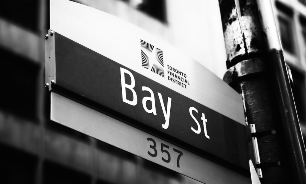 home header 357 bay Toronto Financial District original